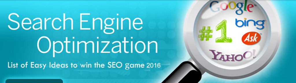 list of easy SEO ideas to win the 2016 seo game 2016